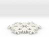Christmas Snowflake Ornament 3d printed