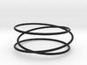 Triple Wrap Bracelet 3d printed