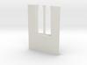 shkr044 - Teil 44 Seitenwand mit Fenster1-3 abgebr 3d printed
