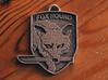 Metal Gear Foxhound Classic Keyring 3d printed Stainless Steel Print