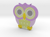 Emoji Owl 3d printed
