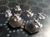 "Omni Scale Federation F-14 ""Tomcat"" Fighters MGL 3d printed Painted by a fan. Stands not included."