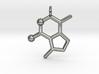 catnip molecule pendant 3d printed