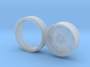 """One 1/25 Artillery Wheel 24"""" Dia. with Tire 3d printed"""