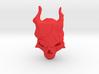 Rail_Badge_Demon_Skull 3d printed