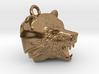 Fire Bear Pendant 3d printed