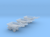 WheelBarrow 3 Pack N Scale 3d printed