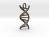 DNA (customizable: size, pendant, text) 3d printed