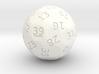 d39 oddball die 3d printed