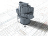 """1/200 Royal Navy Leander Class 6"""" Director 3d printed 3d render showing product detail"""