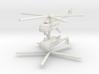 1/220 Mil Mi-17 Hip (x2) 3d printed
