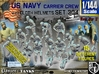 1/144 USN Carrier Deck Crew Set304 3d printed