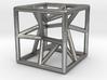 """cubo-stella"" - ""star-cube"" pendant 3d printed"