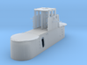 1/72 US Gato Conning Tower w/o Antennas 3d printed