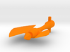Optimus Prime Axe 5mm handle 3d printed