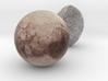 Haumea and Pluto 3d printed
