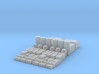 1:144 SW Container Set 3d printed
