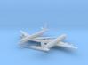 1/700 DC-8-50 w/Gear x2 (FUD) 3d printed