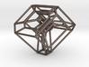 Cyclohedron (Schlegel Diagram) 3d printed