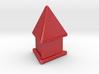 Tetrahedron on pedestal 3d printed
