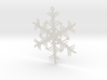 Organic Snowflake Ornament - Russia 3d printed