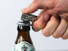 Belt Clip with Bottle Opener 3d printed
