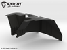 AJ50001 SCX10 II JK & G6 body Inner Fender FRONT 3d printed Parts as they come from Shapeways