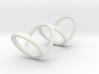 Ring for Bob L1 1 1-4 L2 1 3-4 D1 6 1-2 D2 9 1-4 D 3d printed