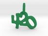 """""""420"""" Pendant 3d printed"""