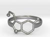 Serotonin Ring:  size 9 3d printed