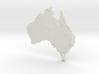 Australia Christmas Ornament 3d printed