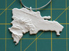 Dominican Republic Christmas Ornament 3d printed