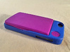 iPhone 5S kit-case 3d printed iPhone 5S kit-case shown in Royal Blue with ULTRA SLIM WalletAccesory