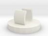 Stethoscope charm: Paw Print  3d printed
