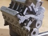 Holley EFI Hi-Ram Intake Manifold 3d printed Model Behavior LS Engine with Holley intake, Chevy Valve Covers, & accessories kit