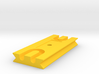 Tetherplate 90mm for DSLR camera's 3d printed