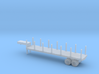 1/144 Scale M270 Semitrailer Low Bed 3d printed