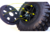 1/10 RC Car Wheel Hutchinson Caps 3d printed It is recommended to paint original rims to same color as caps or to black.