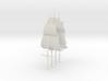 1/300 Frigate Mast Set V2 3d printed