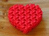 Gyroid Heart Bowl Mini - always 3d printed the back shows the sine waves