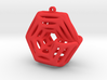 Voronoi Klein Earring (005) 3d printed Voronoi Klein Earring (005)