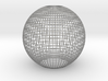 Grid_lampshade_40mm 3d printed
