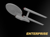 USS Enterprise, Mia's redesign, 200 mm 3d printed
