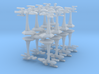 MicroFleet Kzouti  Heavy Battlegroup (16 Pcs) 3d printed