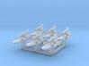 6x Mini Baudo Yacht 3d printed