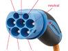 Mennekes VDE-AR-E_2623-2-2  plug 3d printed