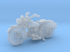 Indian Sport Scout 1941  1:87  HO 3d printed