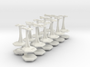 MicroFleet Cardashian Carrier Group (21pcs) 3d printed