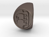 Custom Signet Ring 56 size 14.5 3d printed