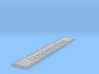 Nameplate Arromanches 3d printed